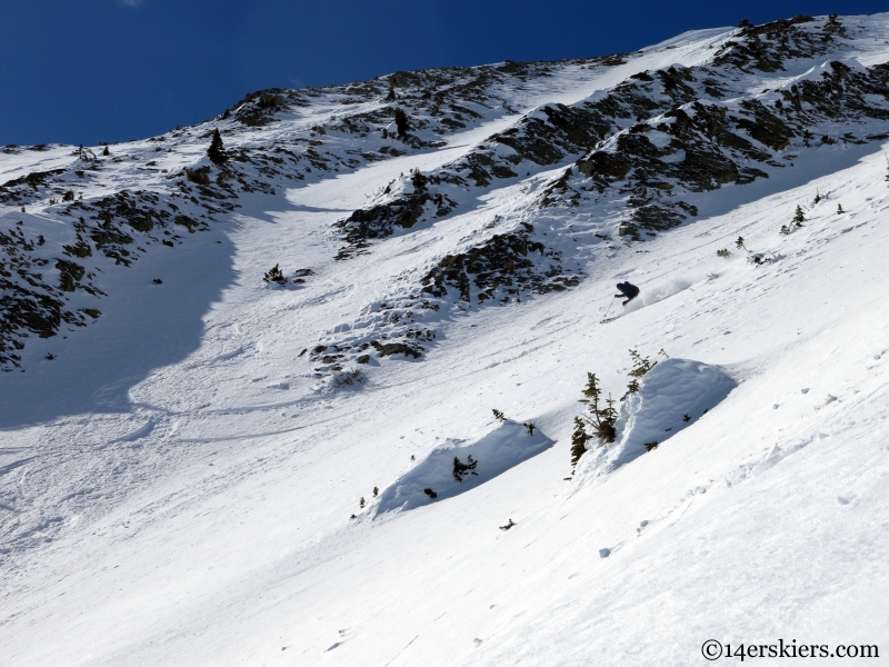 gothic backcountry skiing