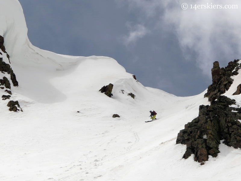 Jenga chute near Crested Butte
