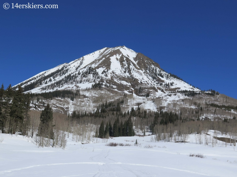 View of Gothic Mountain.
