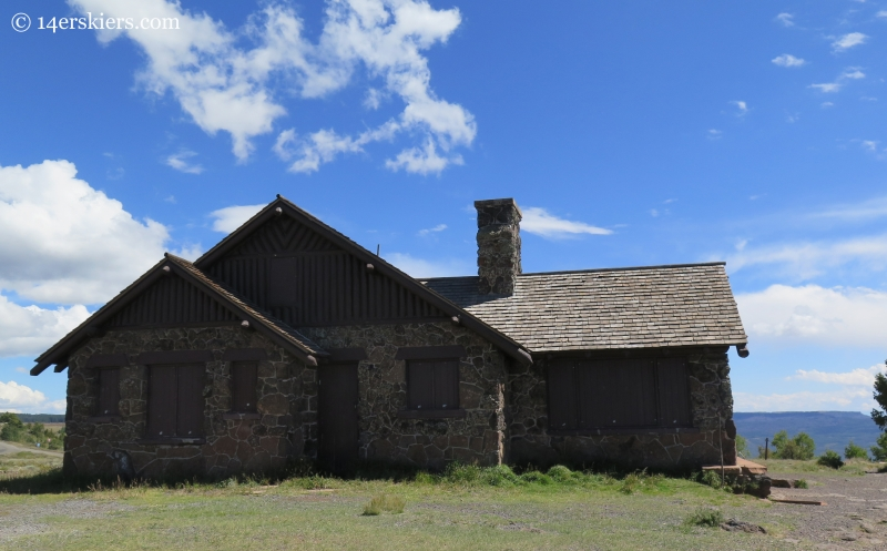 historic Visitor's Center on Grand Mesa