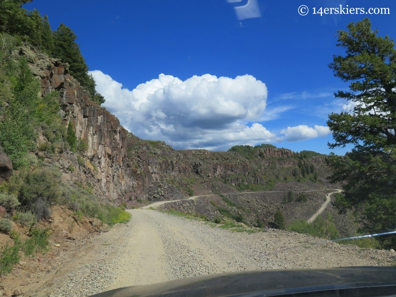 Land's End Road on Grand Mesa