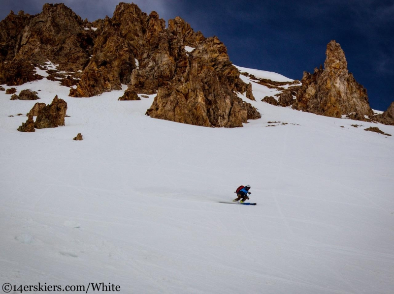 skiing Greg Mace Peak
