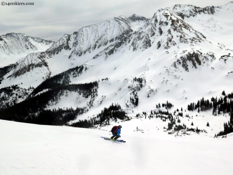 Frank Konsella skiing Greg Mace