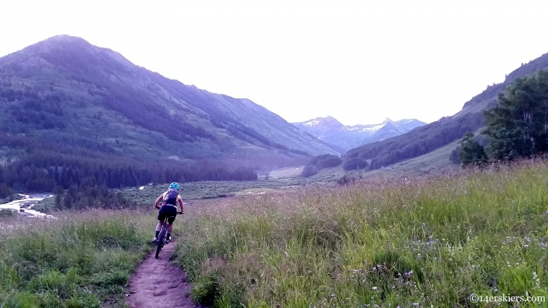 Slate River mountain biking
