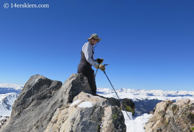 Frank Konsella on summit of Hagar