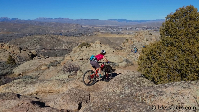 Mountain biking Hartman Rocks - Freefall