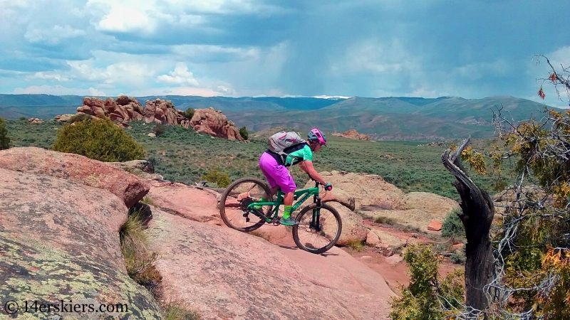 Mountain biking Hartman Rocks - Gateway