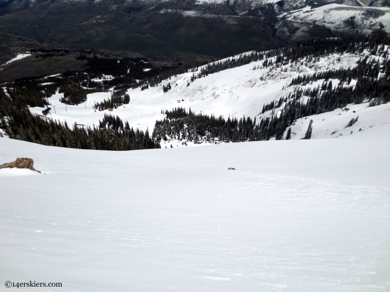 Crested butte Headwall