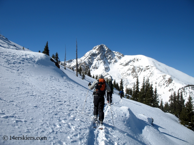 Skinning toward Holy Cross