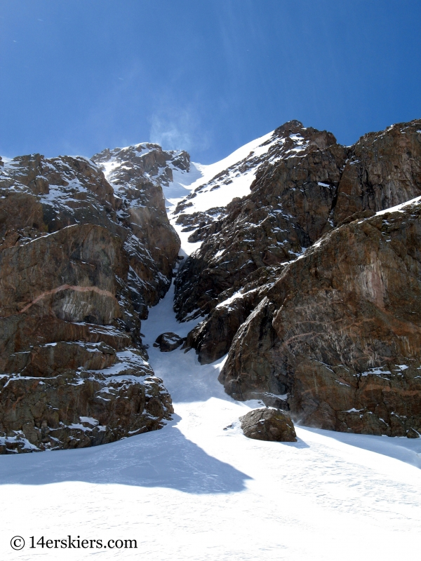 Cross Couloir on Mount of the Holy Cross