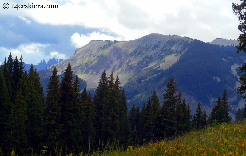 Storm Ridge and Castles near Crested Butte, CO