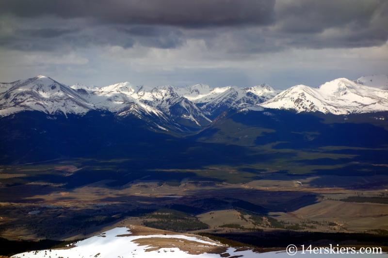 Sawatch as seen from Horseshoe Mountain