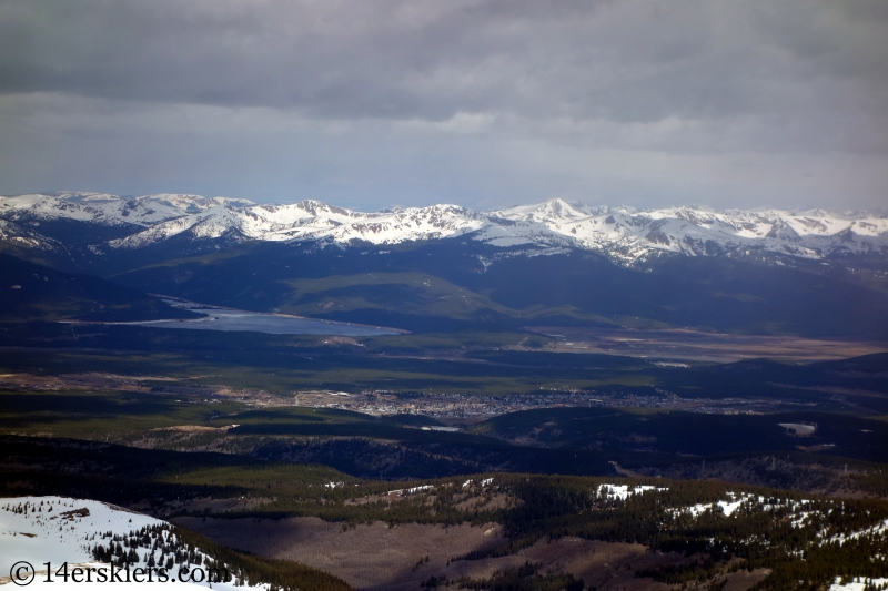 Sawatch as seen from Horseshoe Mountain