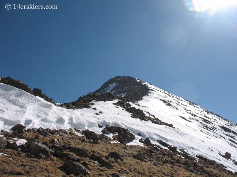 West Ridge on Humboldt Peak.
