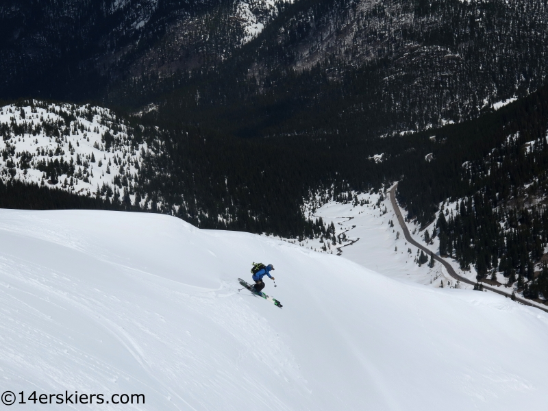 independence pass spring skiing options