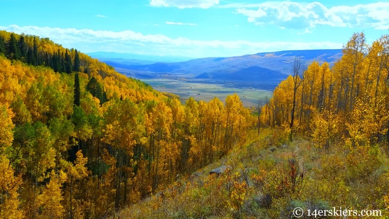 Roaring Judy - favorite fall mountain bike rides near Crested Butte