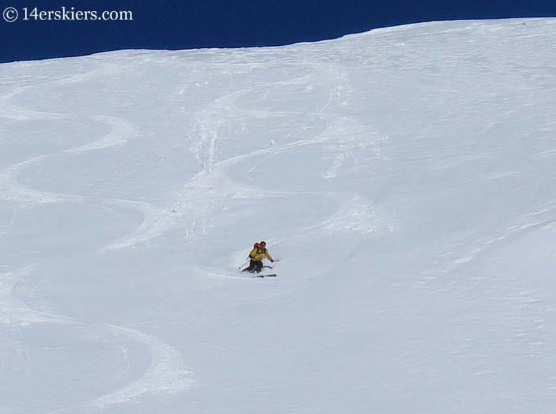 ben mcshan skiing