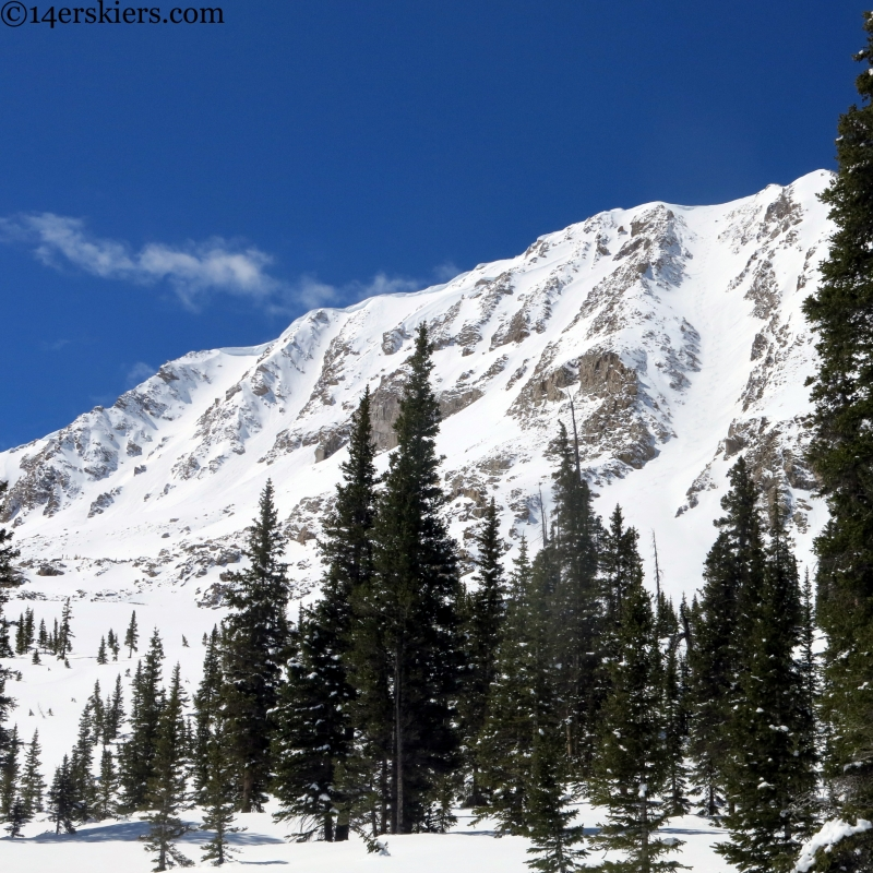 Sawatch skiing