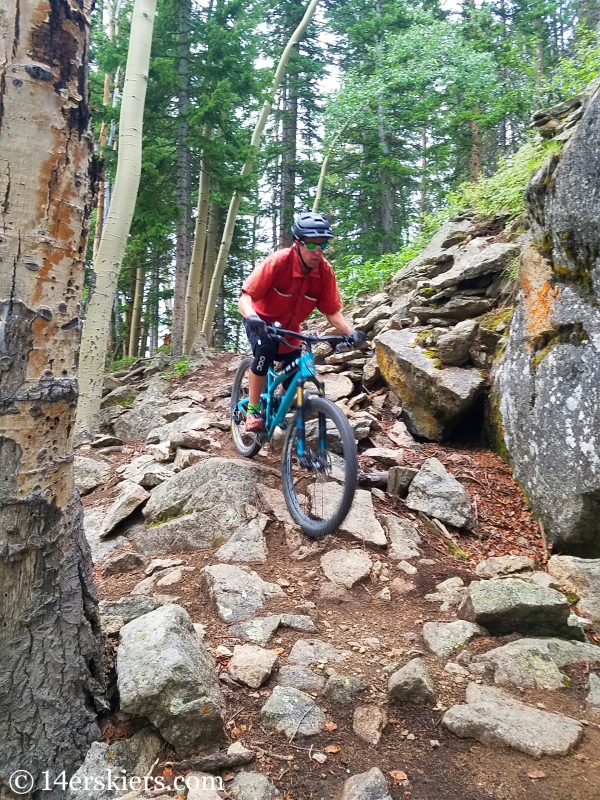July mountain biking in Crested Butte