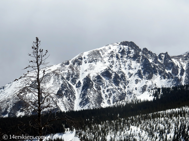 Rain Peak, Gore Range, Colorado.