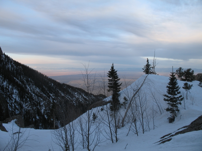 Sunrise in the Sangre de Cristos