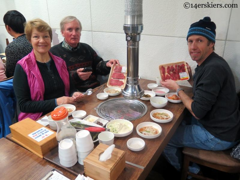 Korean BBQ in YongPyong