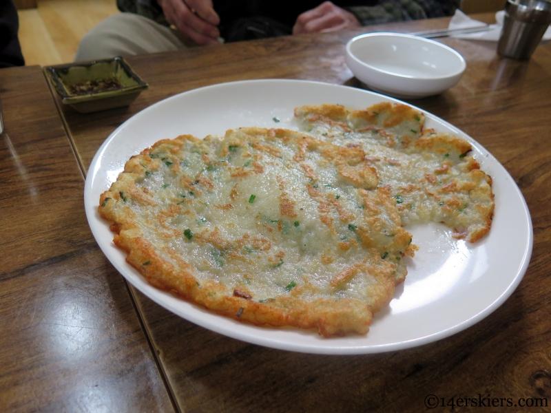 Korean Pancake (seafood variety)