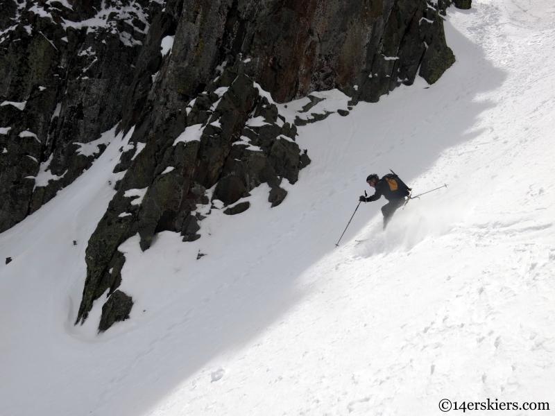 skiing in the la platas