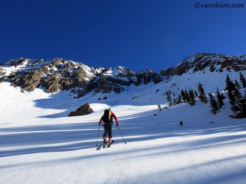 skiing babcock peak