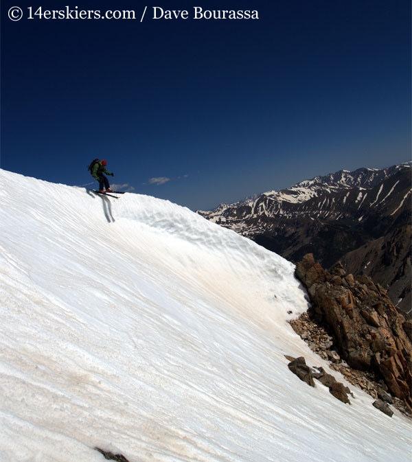 Frank Konsella skiing La Plata.