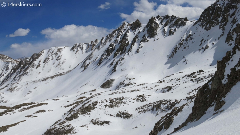 Basin south of La Plata peak.