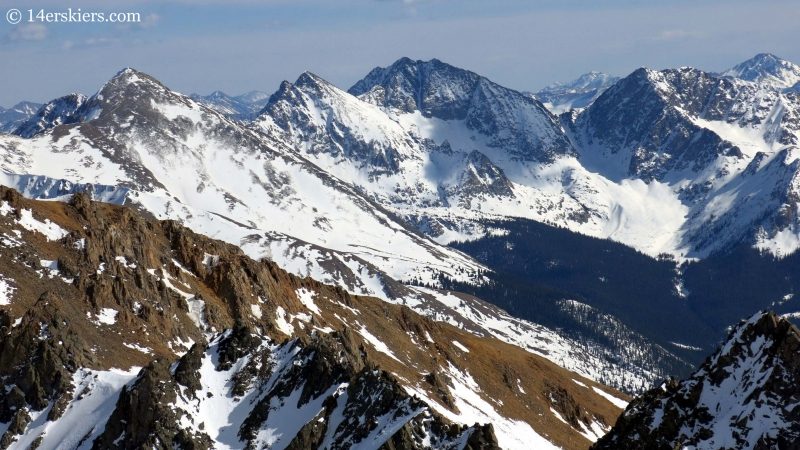 The Apostles in the Sawatch Range.