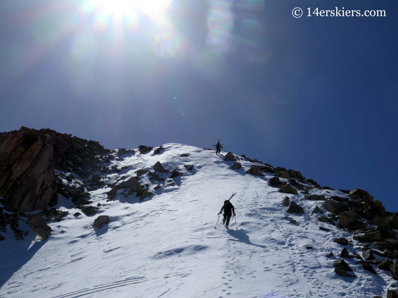 Ridge hike on La Plata.