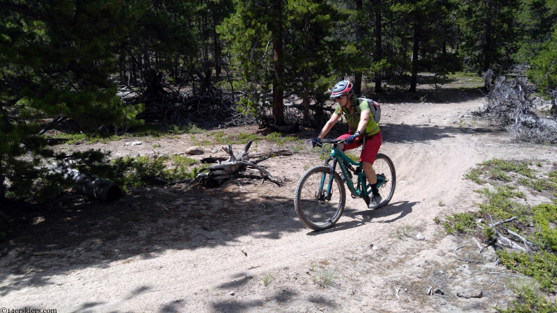 left hand trail cochetopa hills