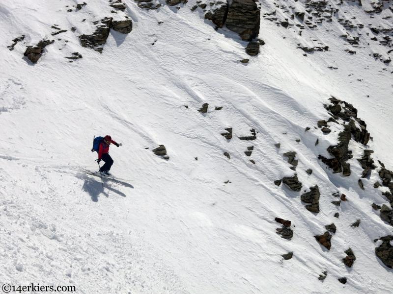 steep skiing