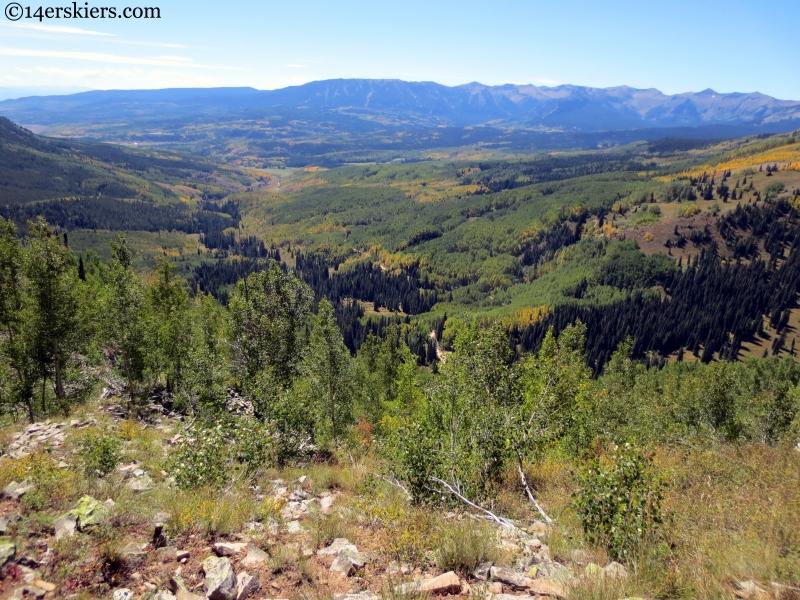 Ohio Creek valley near Gunnison Colorado
