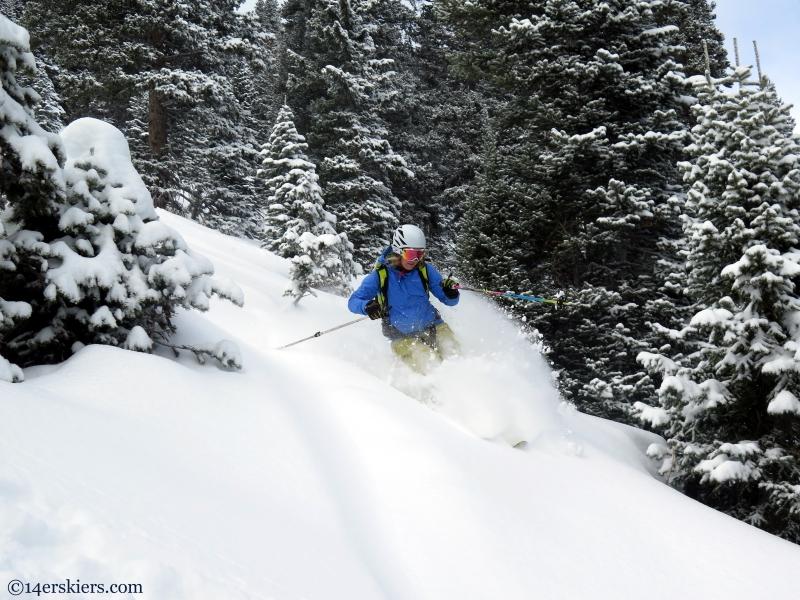 Marble skiing