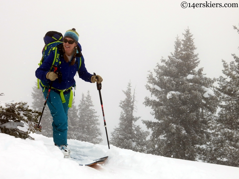 Marble backcountry skiing