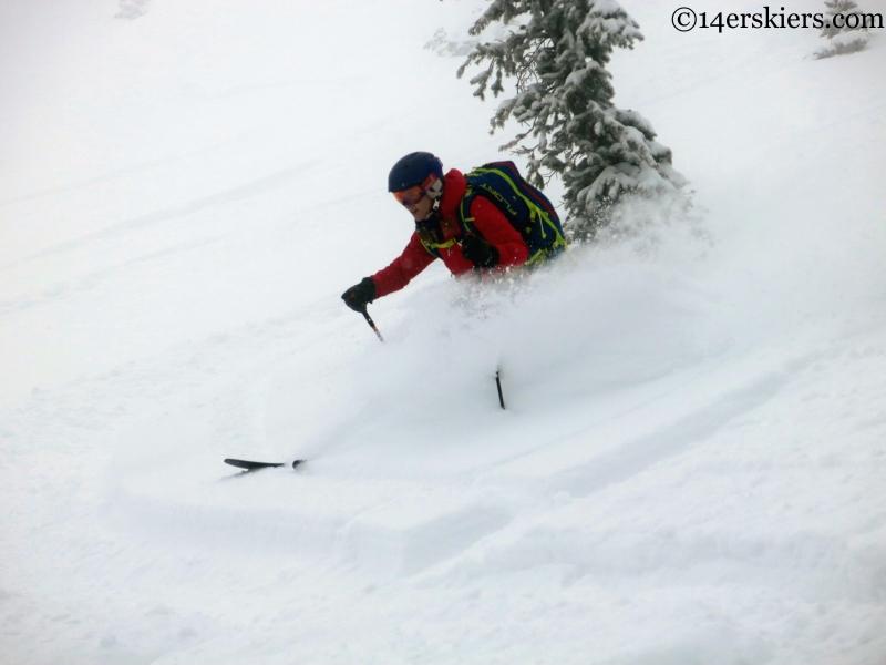marble powder skiing