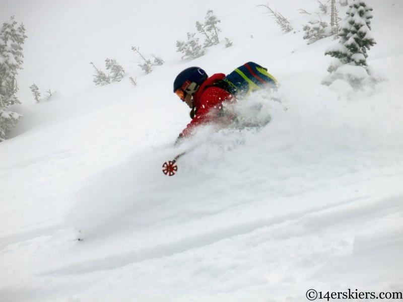 backcountry skiing in Marble Colorado