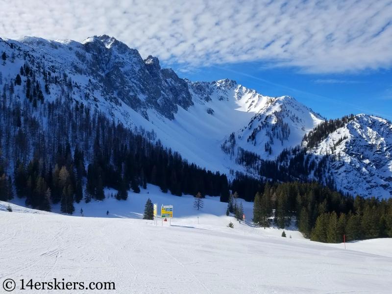 Marienberg ski area, Tirol, Austria
