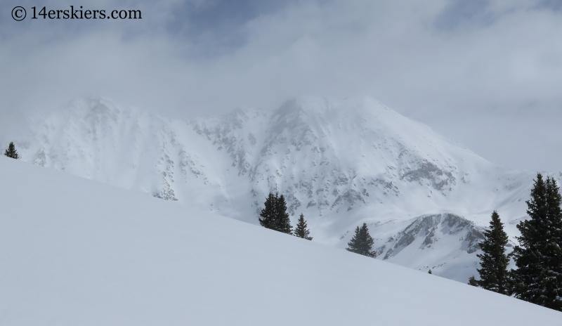 Fletcher Mountain and Drift Peak.