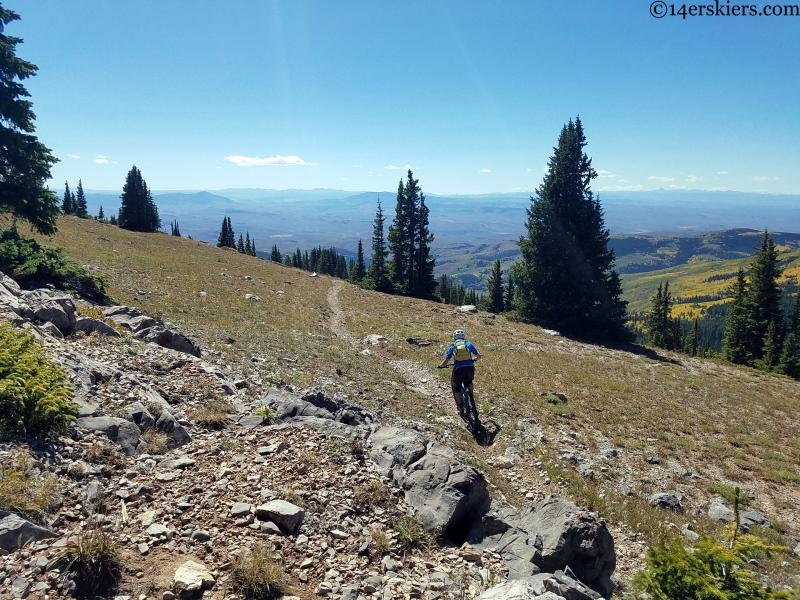 fossil ridge recreation area trails