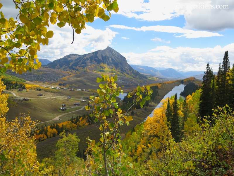 Mount Crested Butte and Meridian Lake