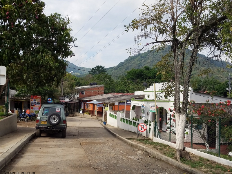 travelling in minca colombia