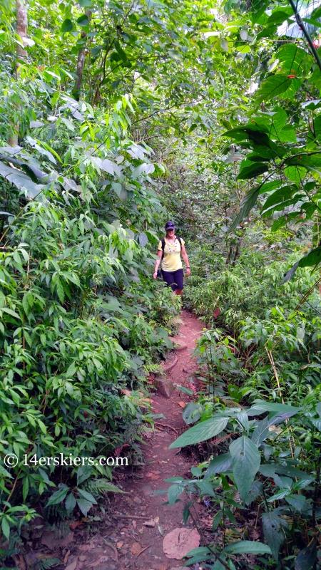 Hike to Pozo Azul, Minca, Colombia.