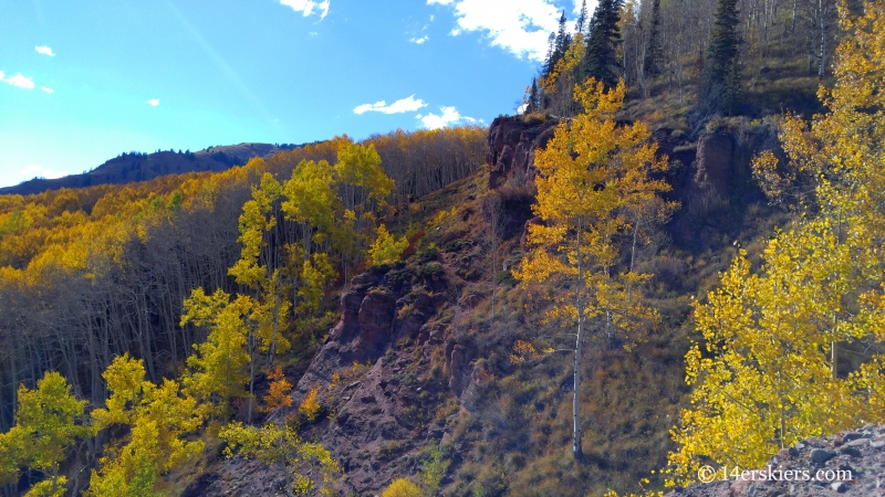 Views from Waterfall Cutoff near Crested Butte.