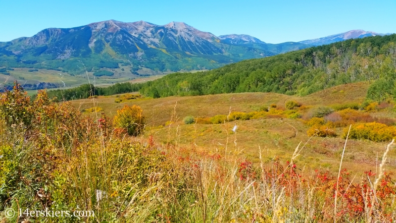Views from Point Lookout Trail near Crested Butte