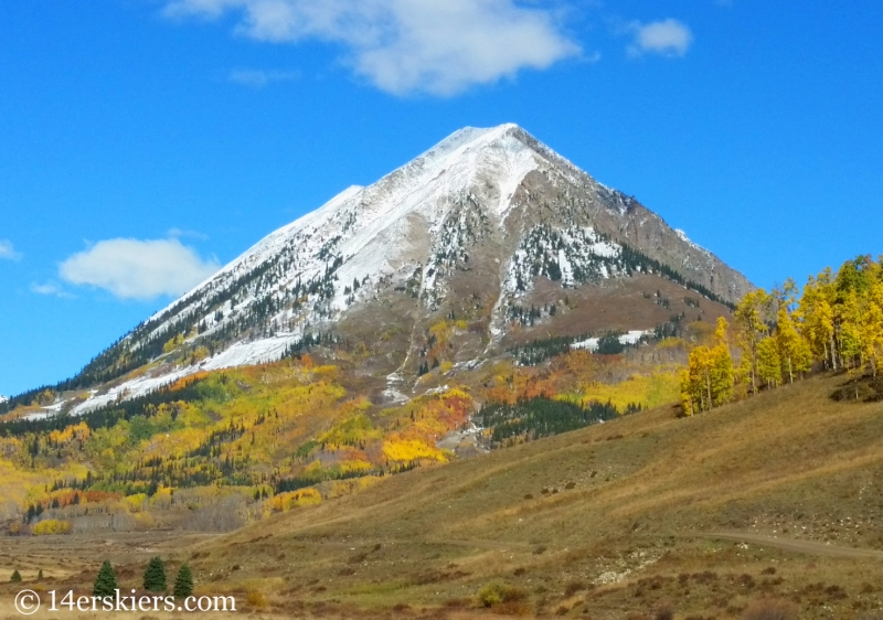 Gothic Mountain in Crested Butte.