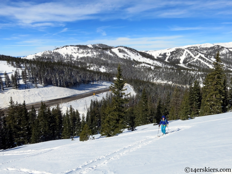 monarch pass backcountry skiing